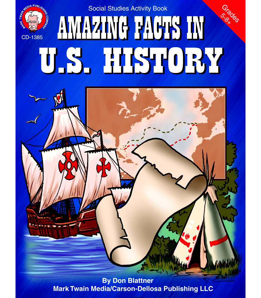 Amazing Facts in U.S. History Resource Book Product Image