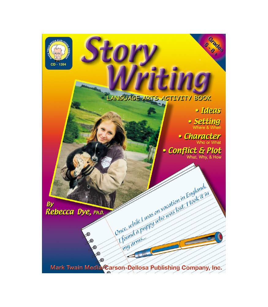 Story Writing Resource Book Product Image