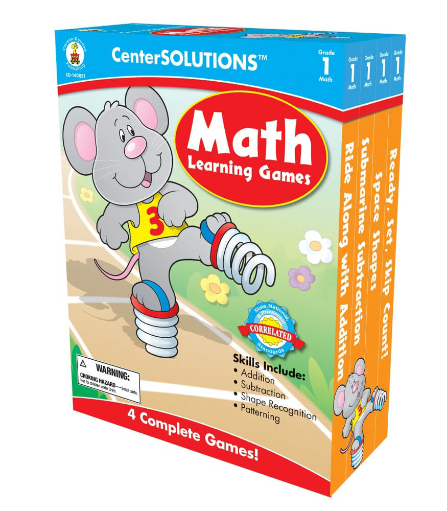 Math Learning Games Board Game