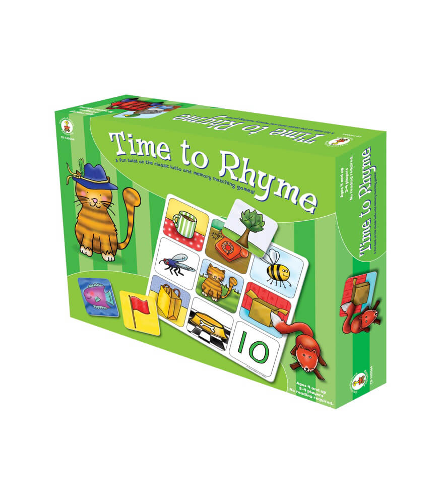 Time to Rhyme Board Game Product Image