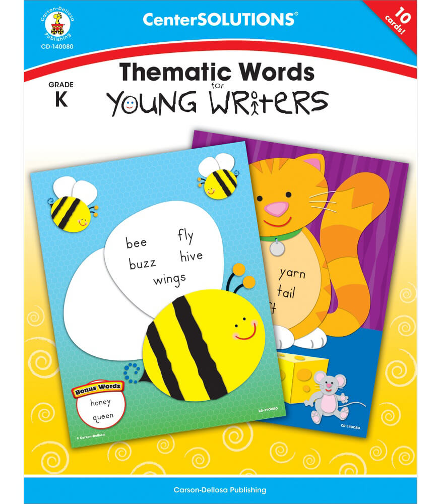 Thematic Words for Young Writers Resource Book Product Image