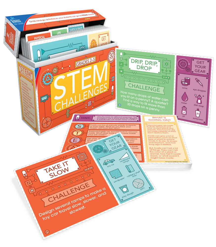 STEM Challenges Learning Cards Product Image