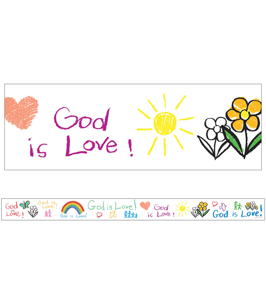 God Is Love Straight Borders Product Image