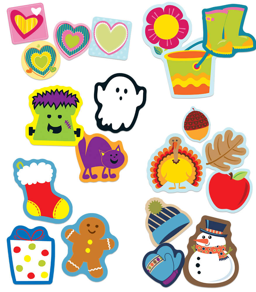 Seasonal Mini Cut-Outs Collection Product Image