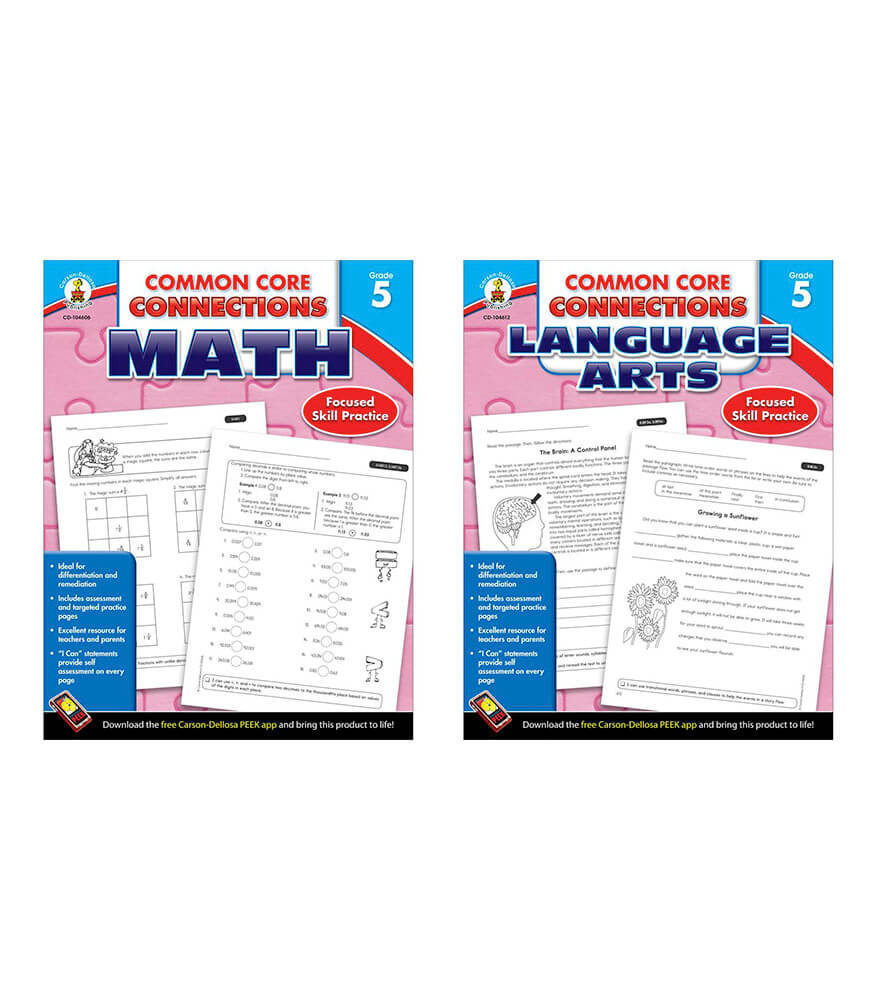 Common Core Connections Grade 5 Workbook Bundle Product Image