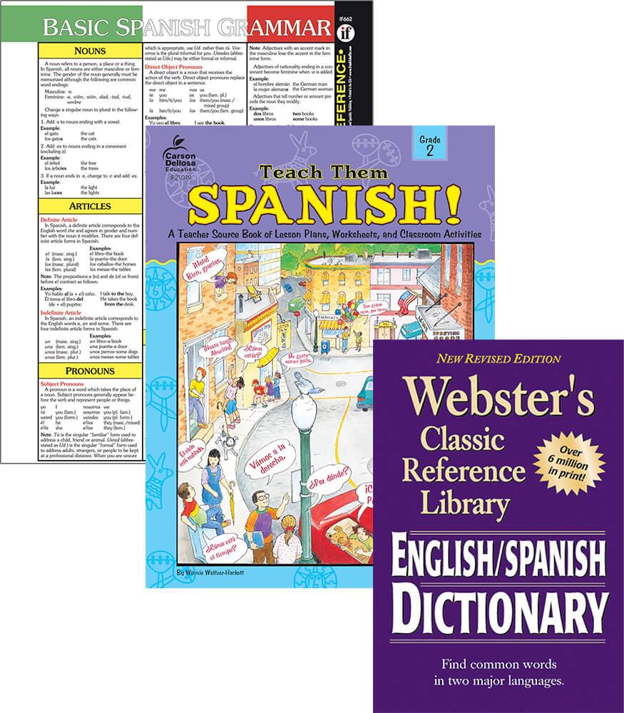 Learning Spanish Grade 2 Workbook Bundle Product Image