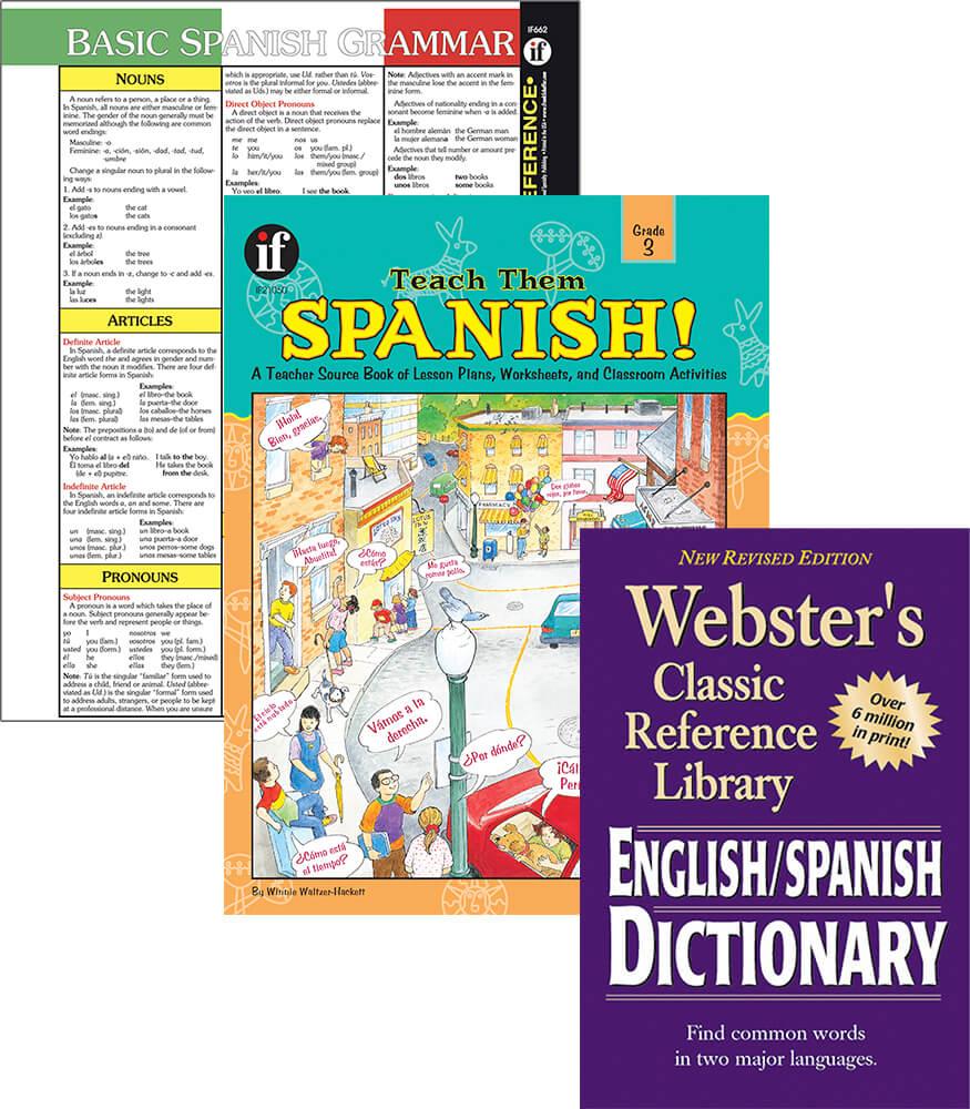 Learning Spanish Grade 3 Workbook Bundle Product Image