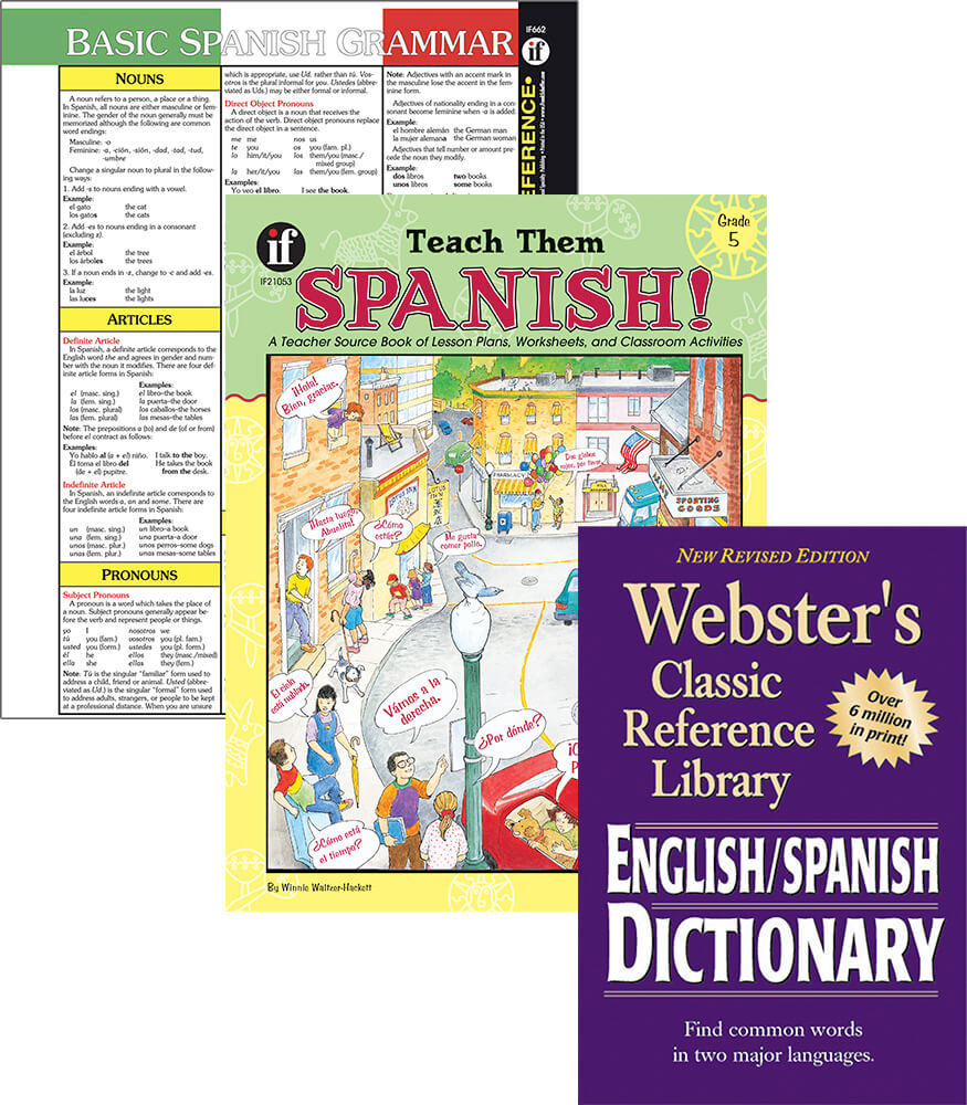 Learning Spanish Grade 5 Workbook Bundle Product Image