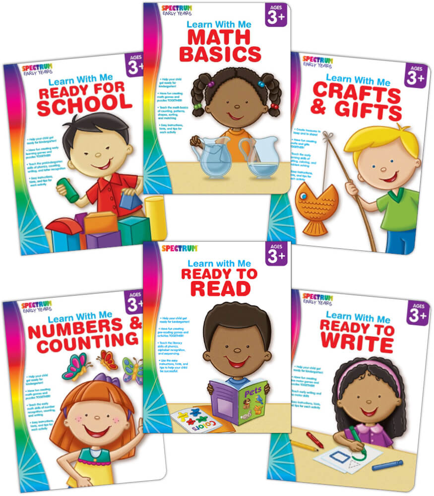 Spectrum Learn with Me Workbook Bundle Product Image