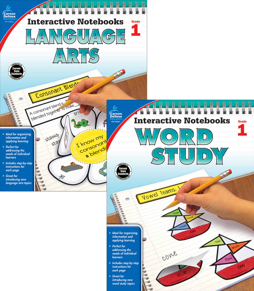 Interactive Notebooks Language Arts & Word Study Resource Book Bundle Product Image