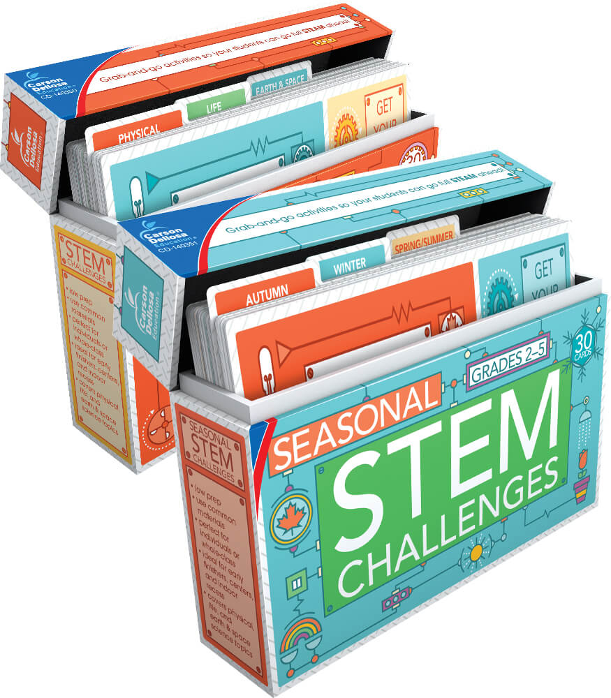 STEM Challenges Learning Card Bundle