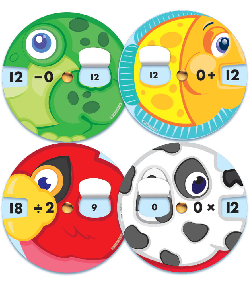 EZ-Spin Math Bundle