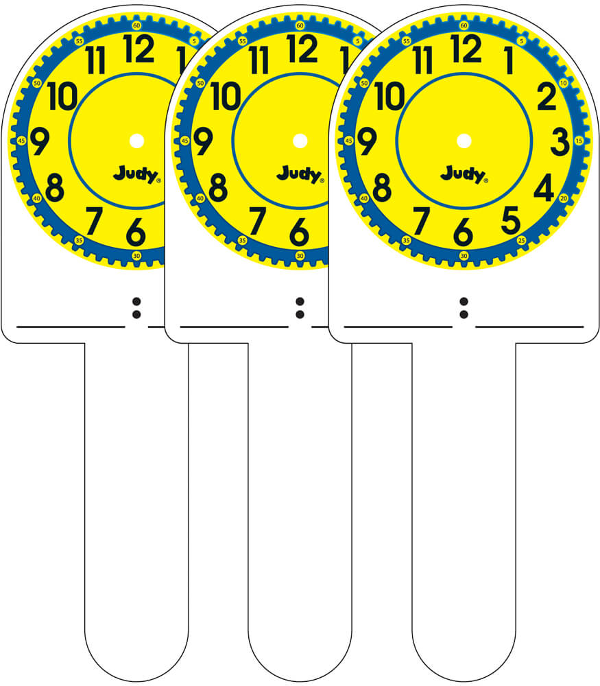 Judy® Clock Sticks Manipulative Product Image