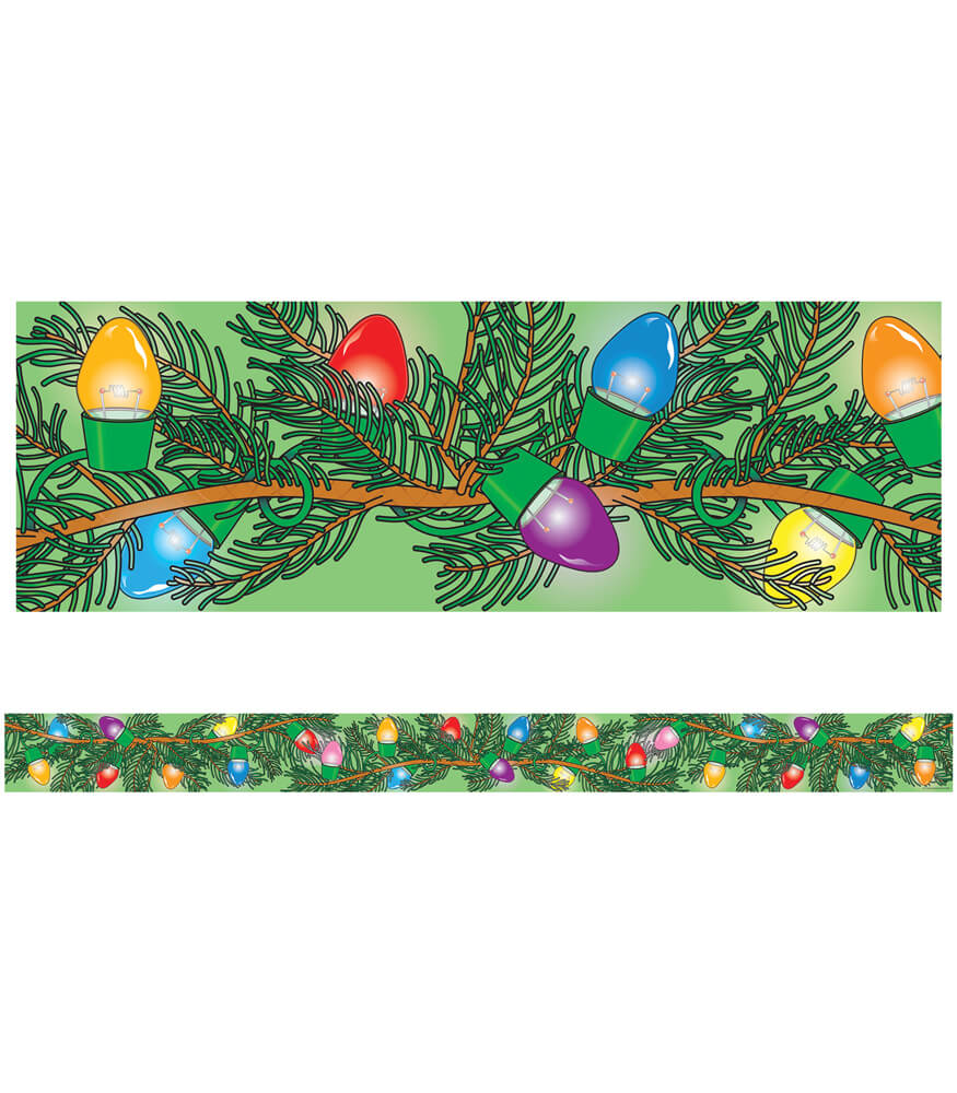 Christmas Lights Straight Borders Product Image