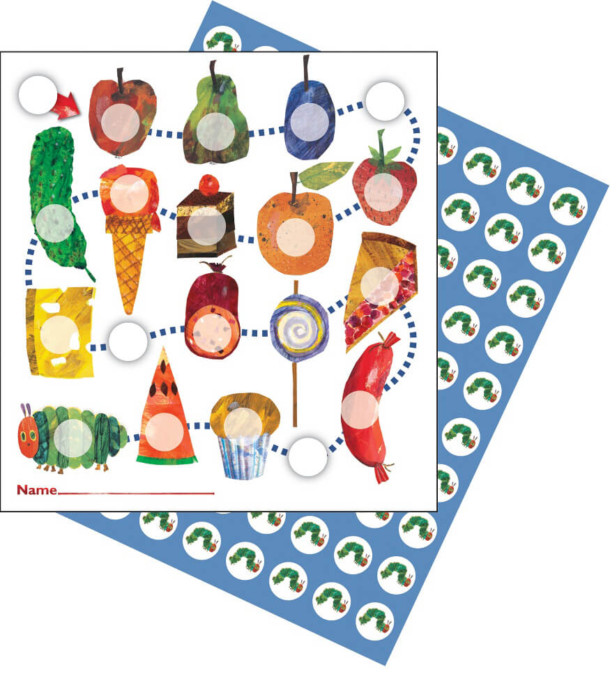 The Very Hungry Caterpillar™ Mini Incentive Charts Product Image