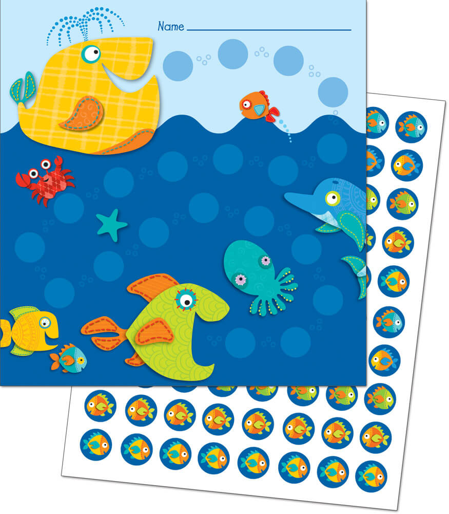 Seaside Splash Mini Incentive Charts Product Image