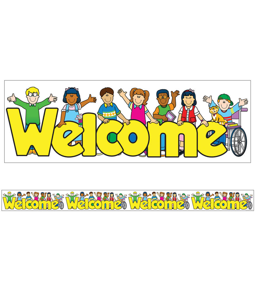 Welcome Kids Straight Borders Product Image