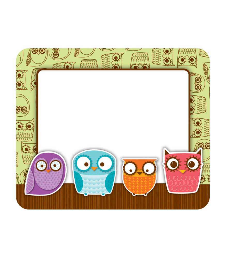Owls Name Tags Product Image