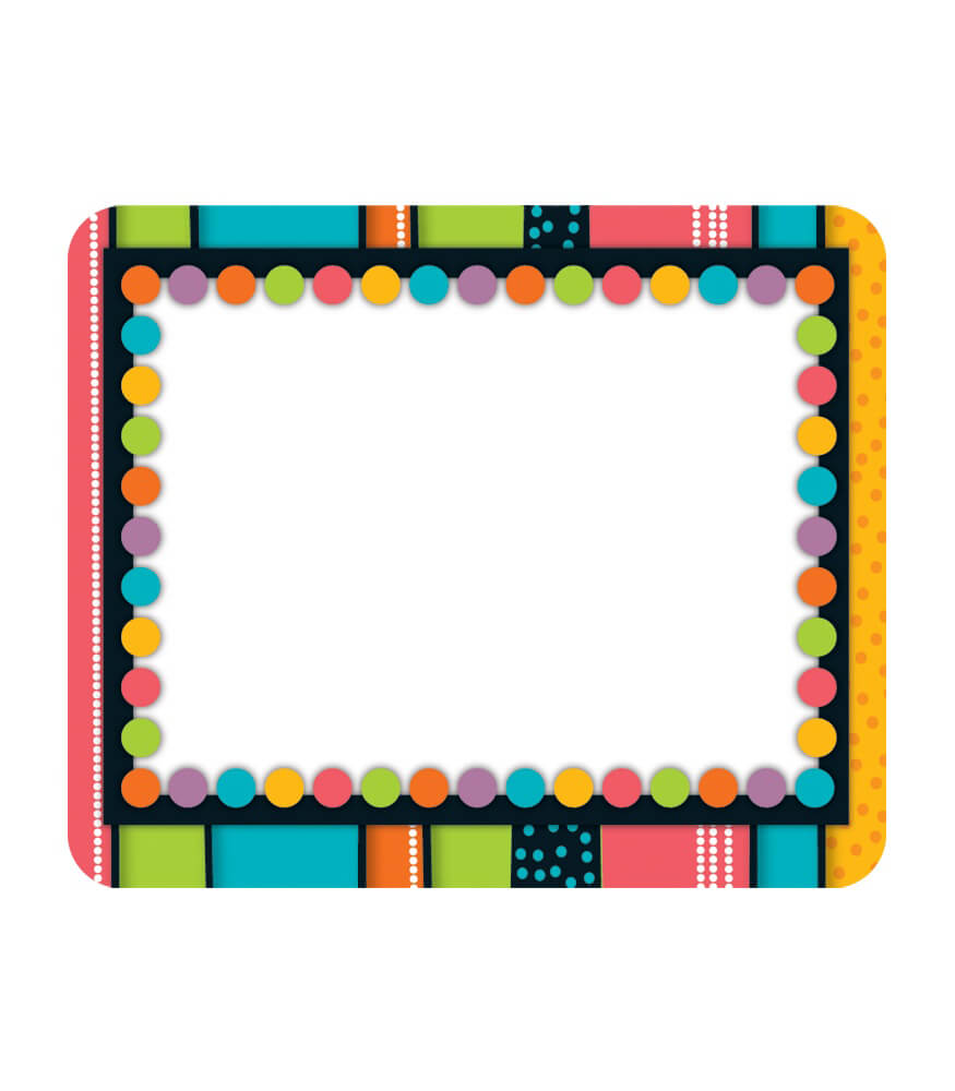 Stylin' Stripes Name Tags Product Image