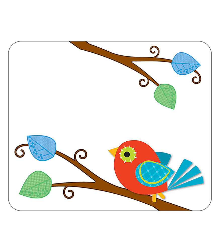 Boho Birds Name Tags Product Image