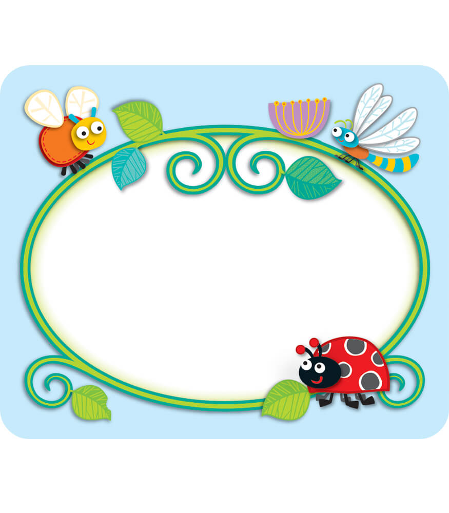Buggy For Bugs Name Tags Grade Pk 5