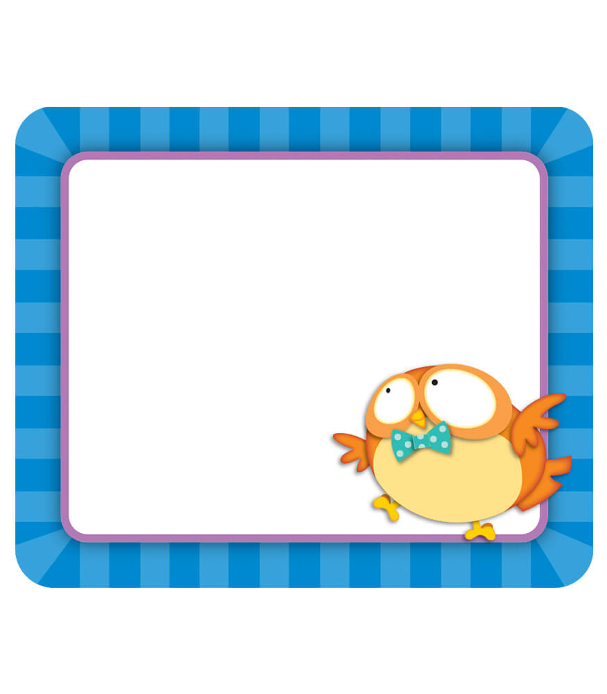 Owl Pals Name Tags Product Image