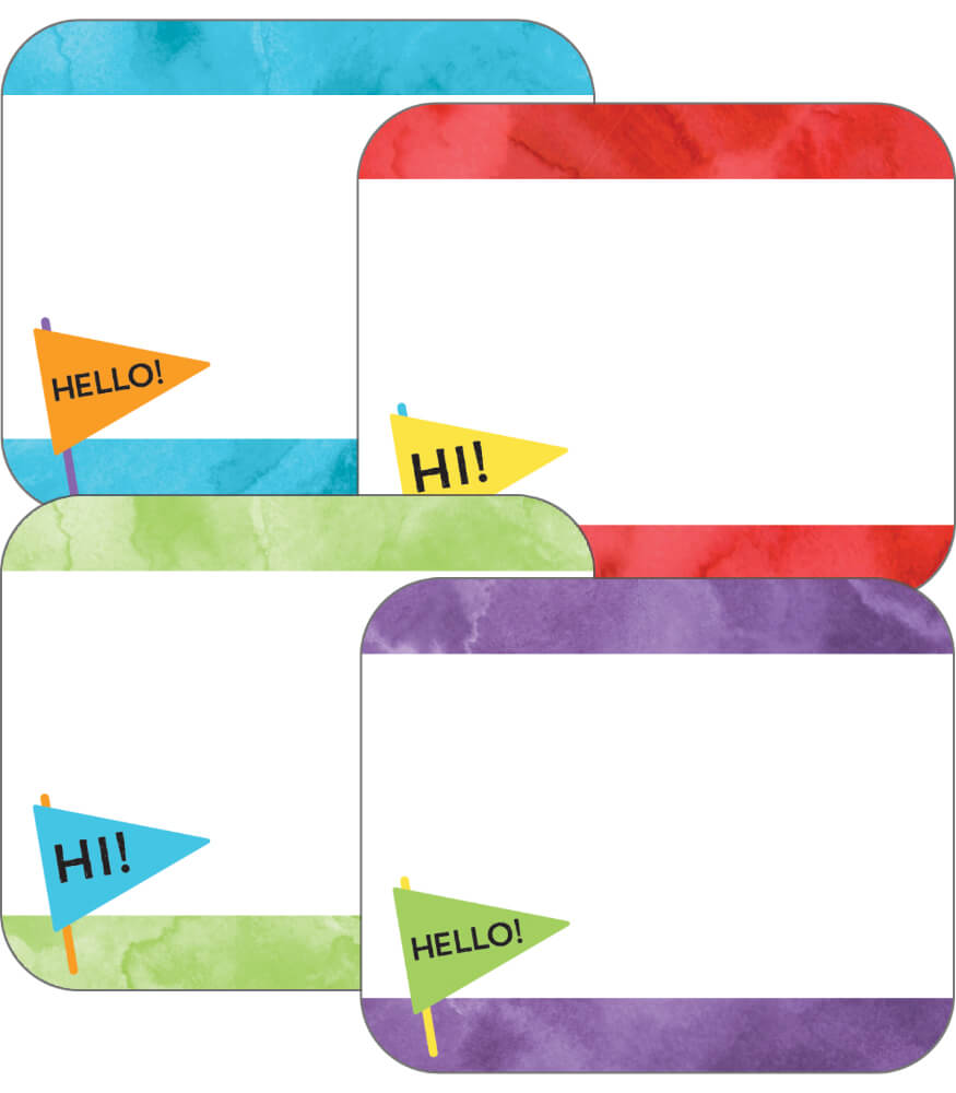 Celebrate Learning Name Tags Product Image