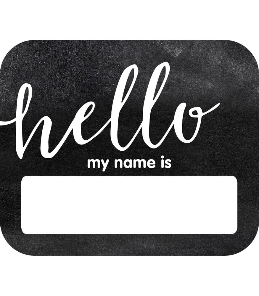 Hello Name Tags