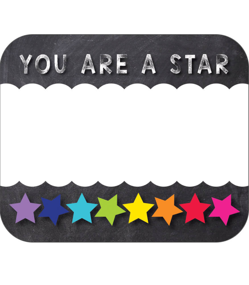 You Are a STAR Name Tags Product Image