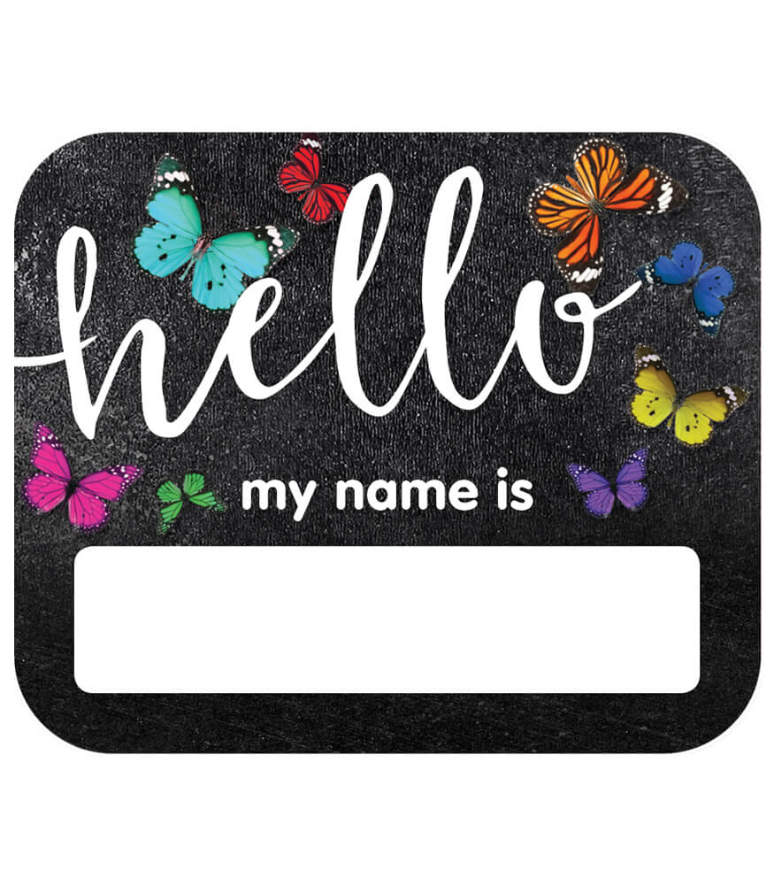 Woodland Whimsy Hello Name Tags Product Image
