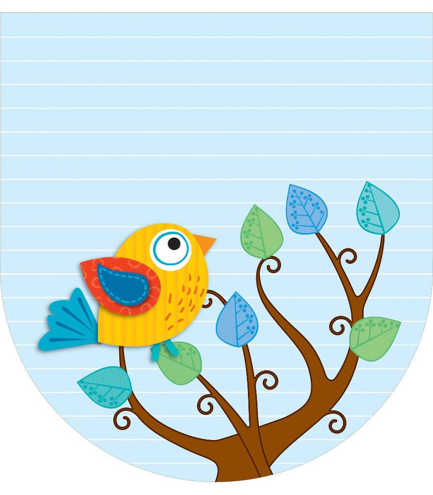 Boho Birds Notepad Product Image