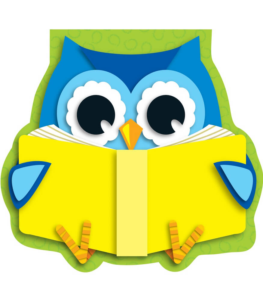 reading owl notepad grade pk 8 fall season clipart free fall season clipart images