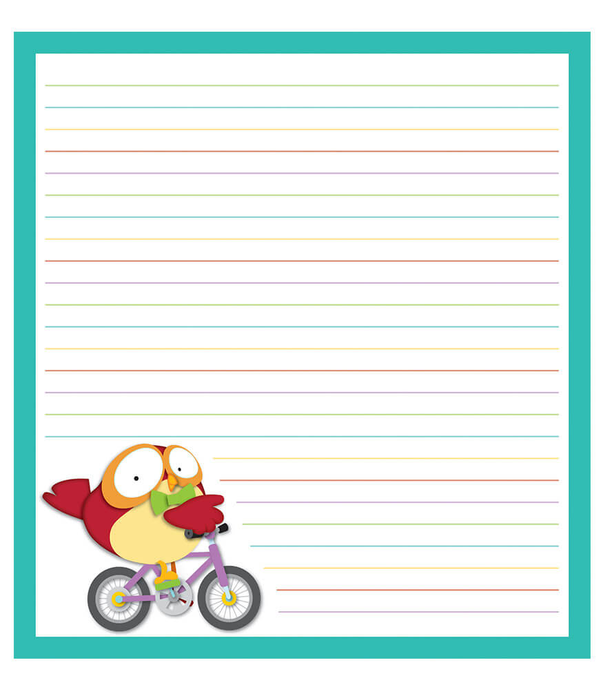 Owl Pals Notepad Product Image