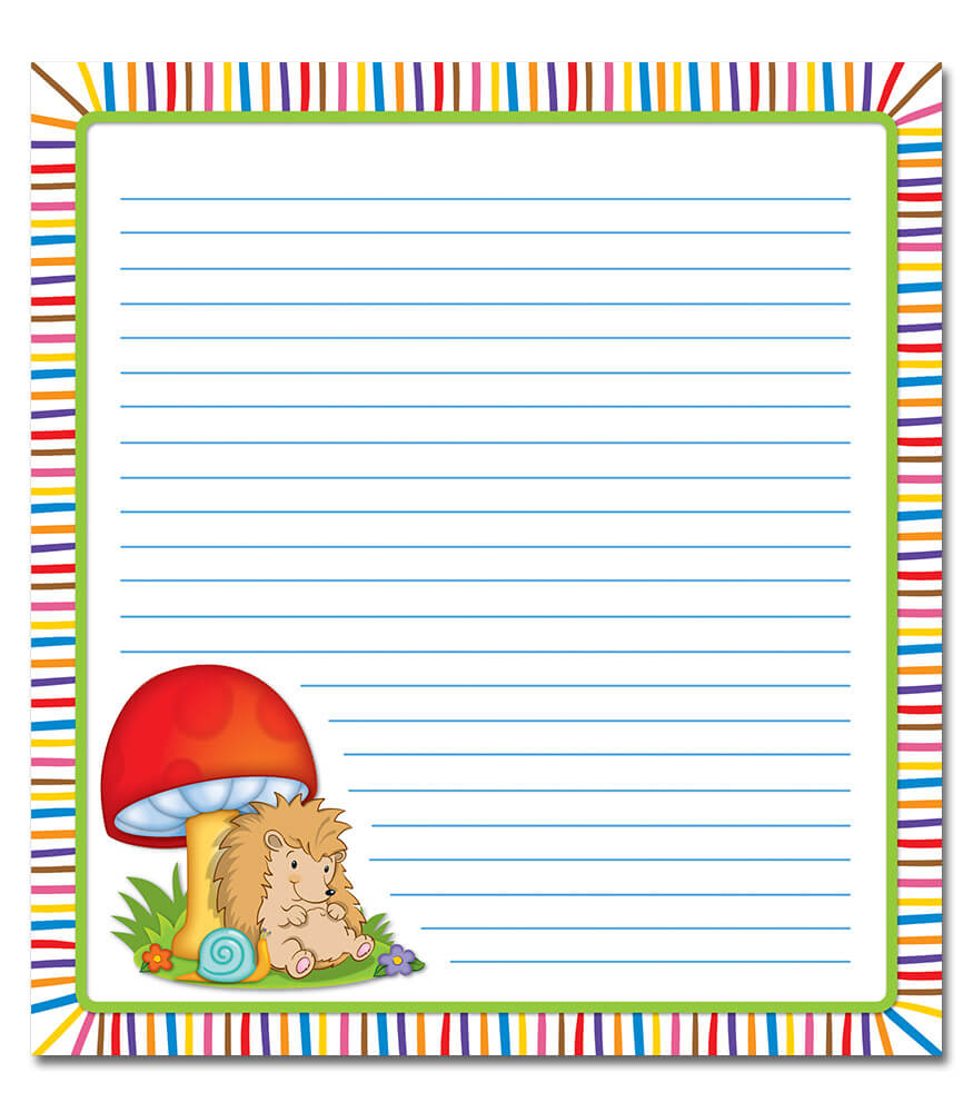 Happy Hedgehogs Notepad Product Image