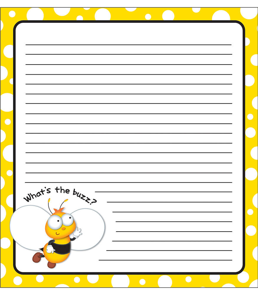 Buzz–Worthy Bees Notepad
