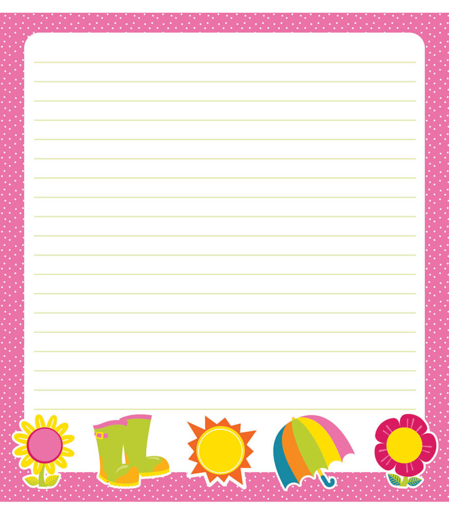 Hello Spring Notepad Product Image