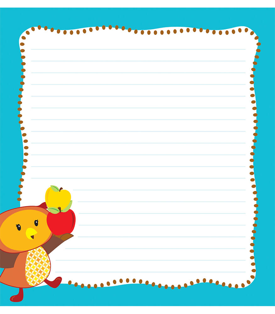 Fall Fun Notepad Product Image