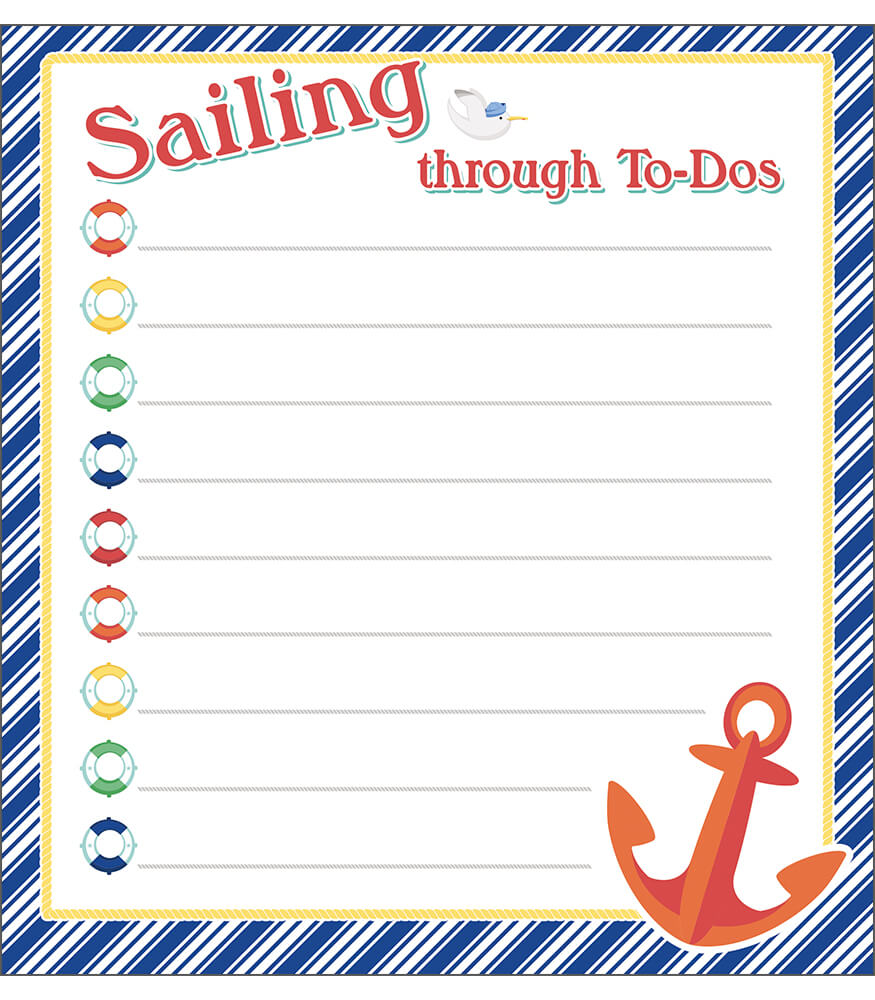 S.S. Discover Notepad Product Image