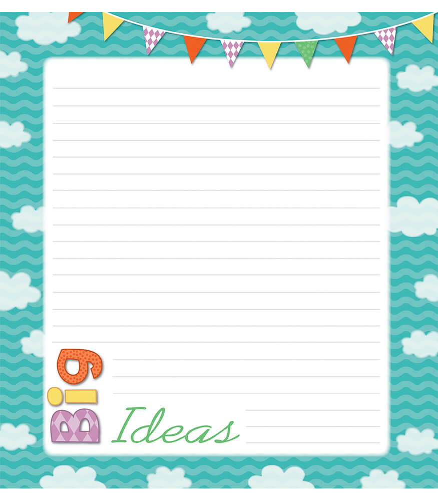 Up and Away Notepad Product Image