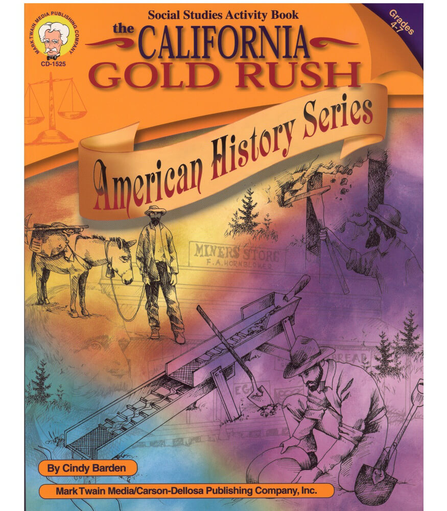 The California Gold Rush Resource Book Product Image