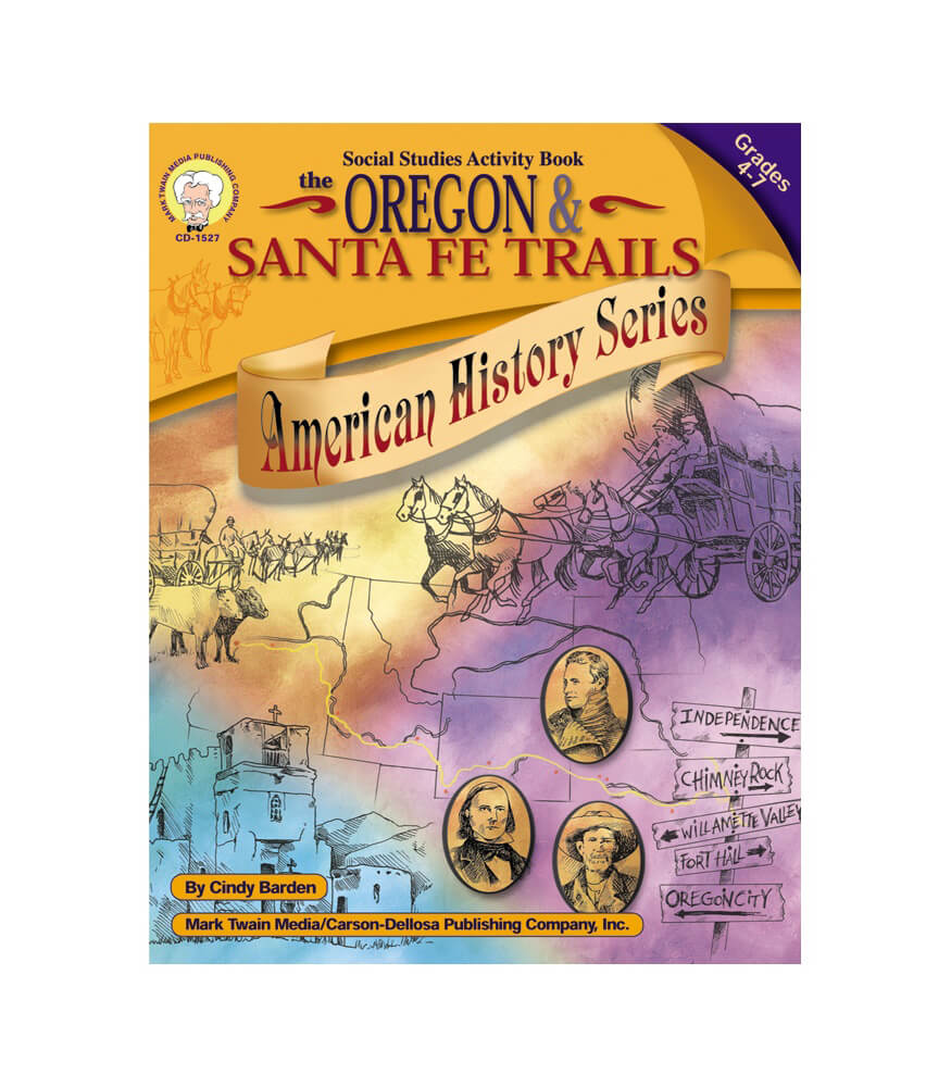 The Oregon and Santa Fe Trails Resource Book Product Image