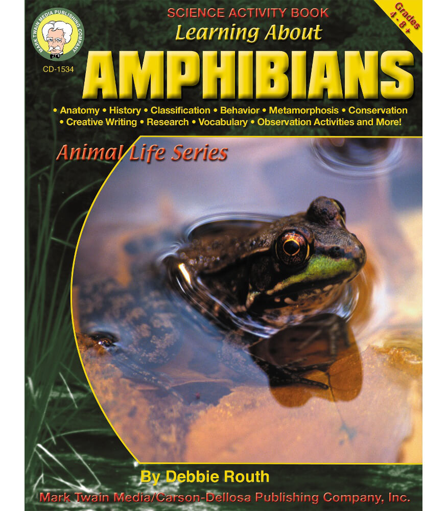 Learning About Amphibians Resource Book Product Image