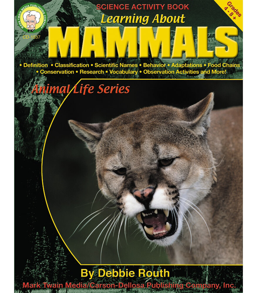 Learning About Mammals Resource Book Product Image