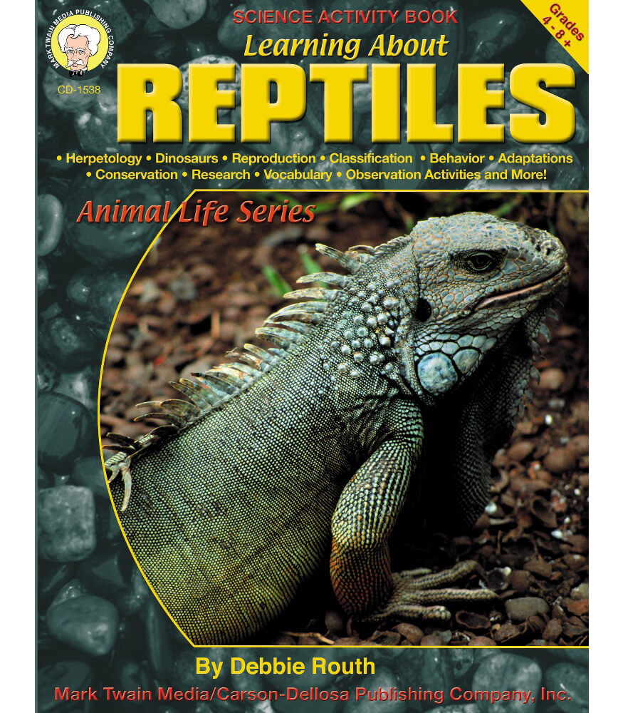 Learning About Reptiles Resource Book Product Image