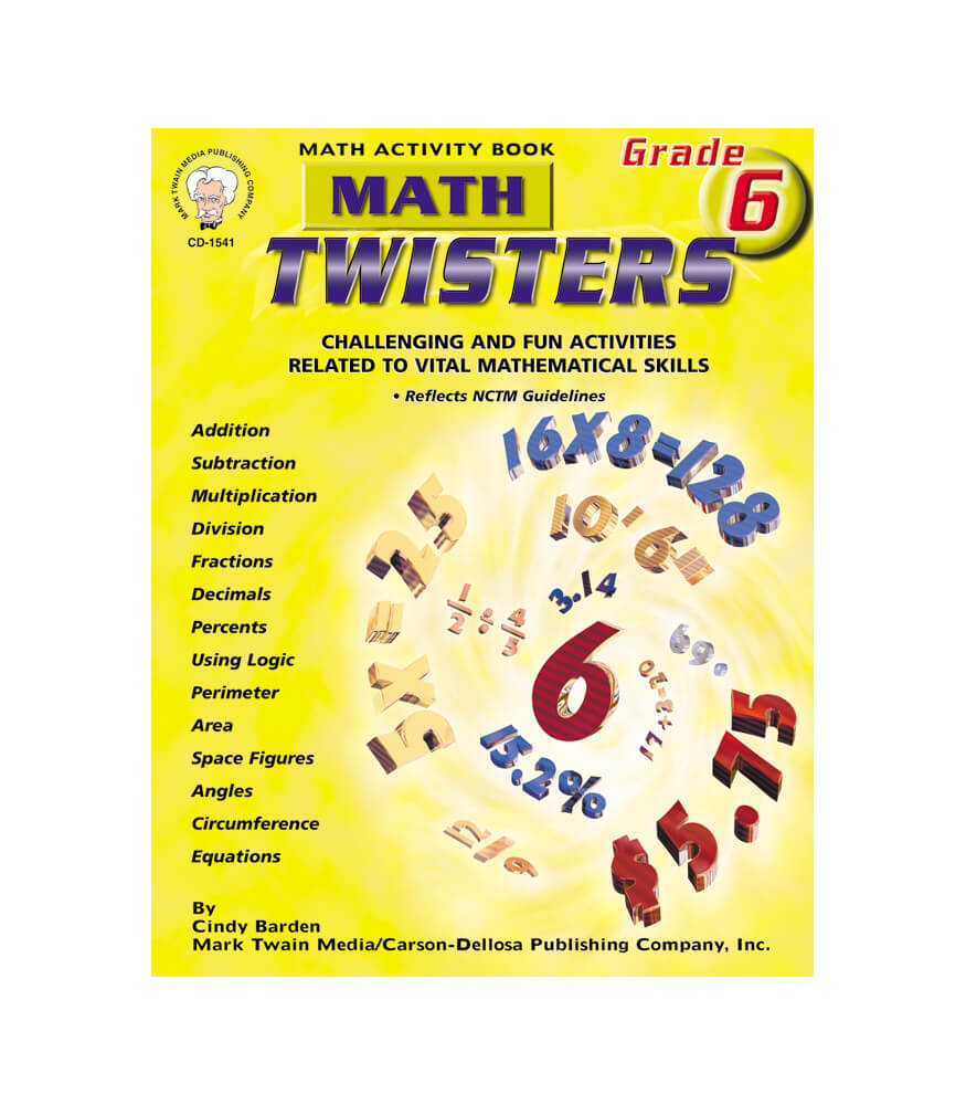 Math Twisters Resource Book Product Image