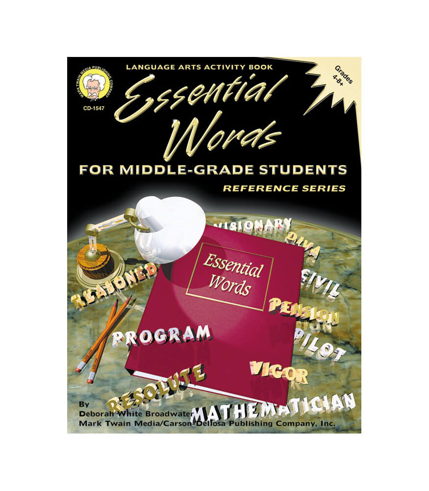 Essential Words for Middle-Grade Students Resource Book Product Image