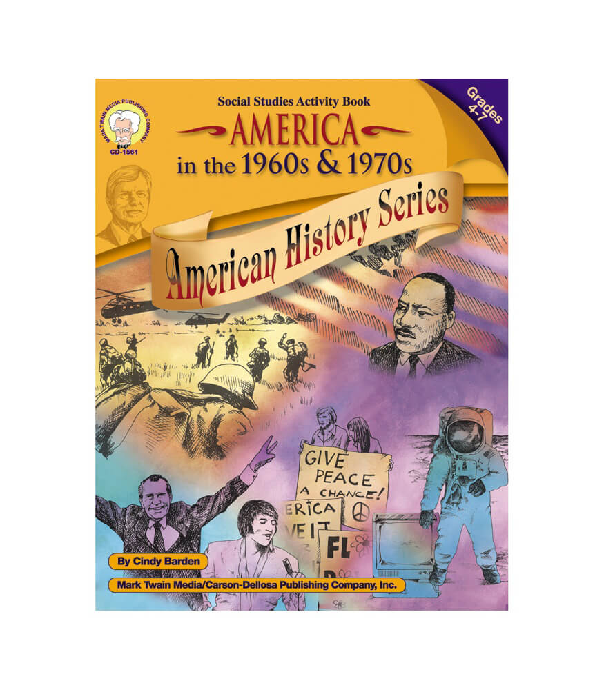 America in the 1960s & 1970s Resource Book Product Image