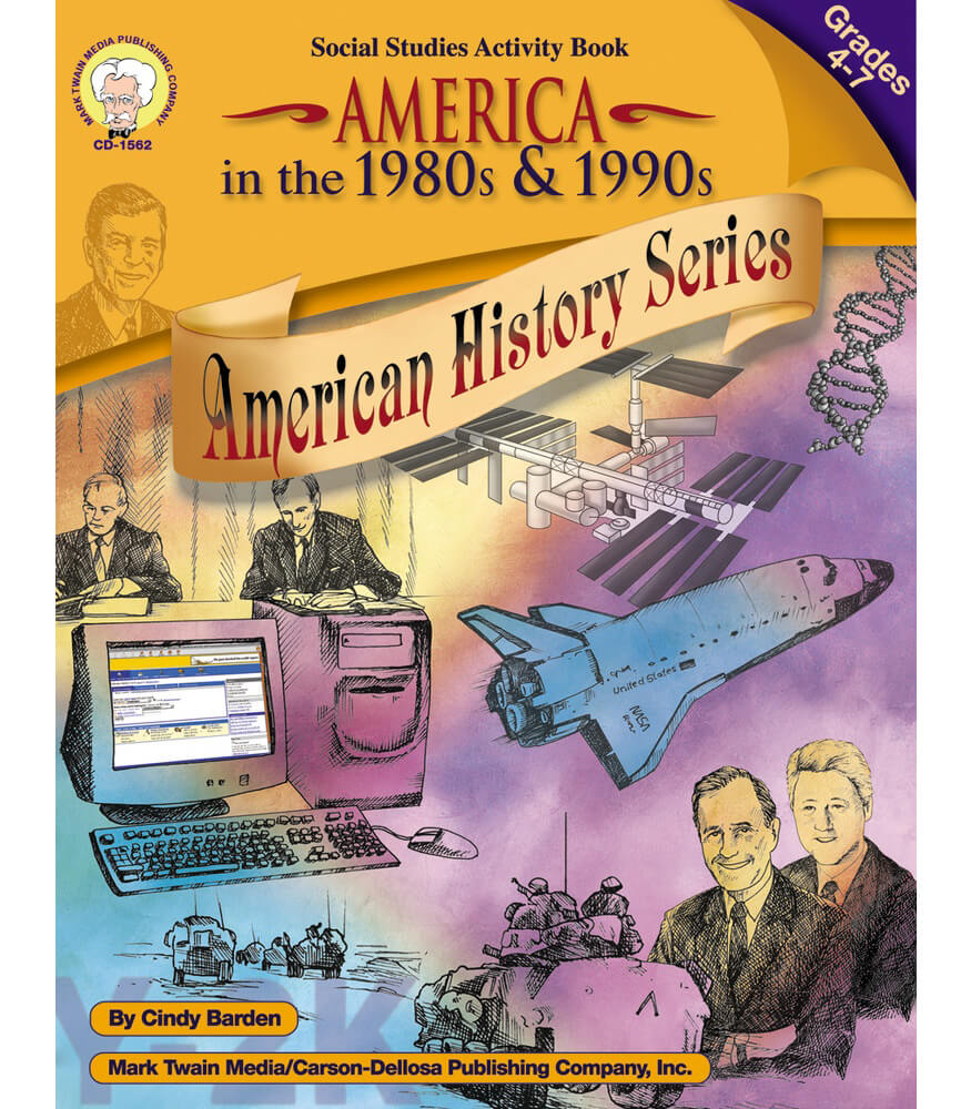 America in the 1980s & 1990s Resource Book Product Image