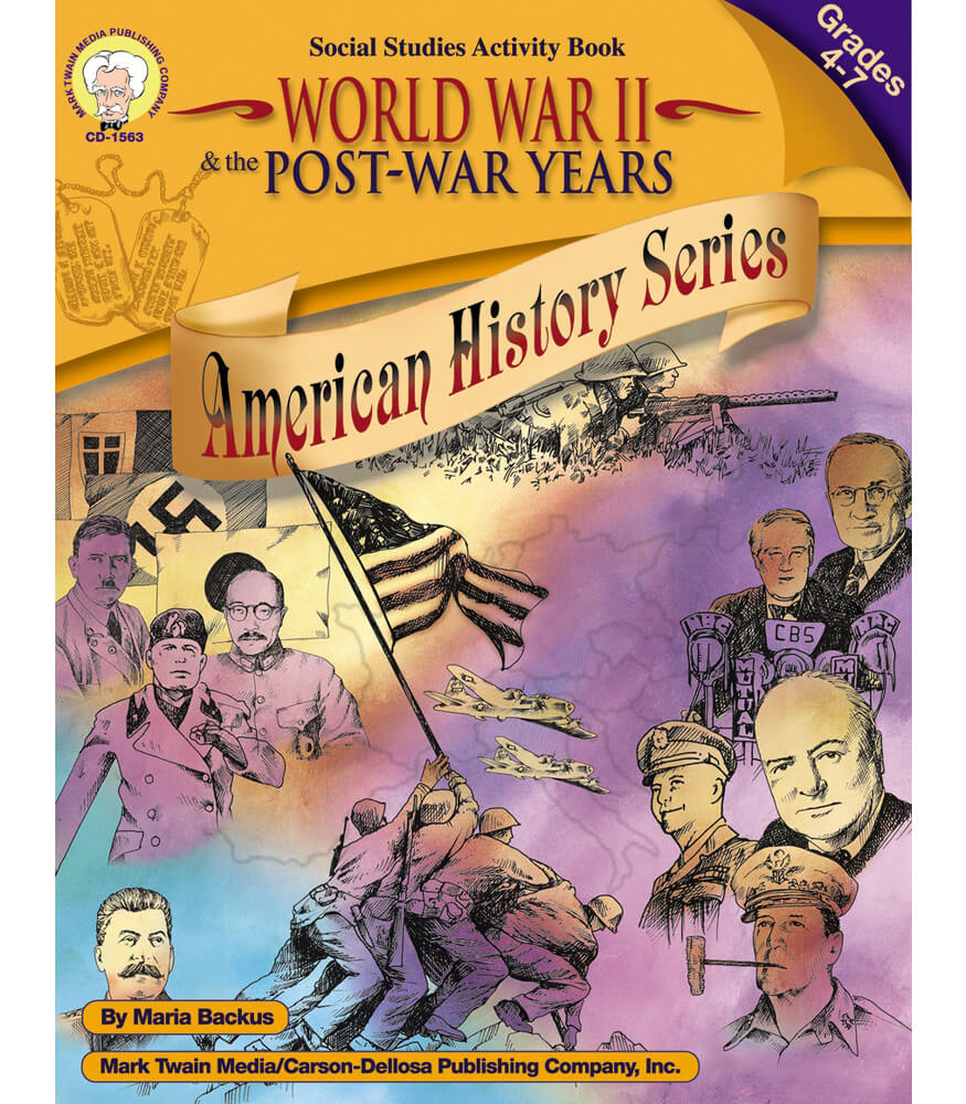 World War II & the Post-War Years Resource Book Product Image