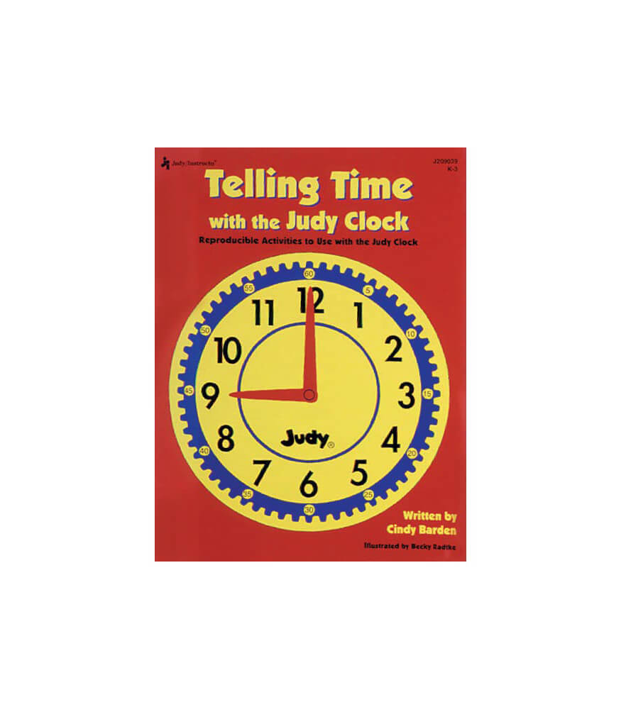 Telling Time with the Judy® Clock Resource Book Product Image